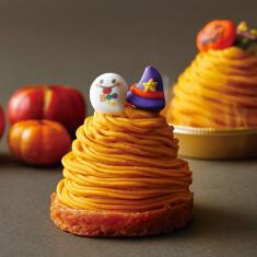 かぼちゃのモンブラン ¥620(税抜) ※10月31日(土)まで販売中