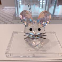 125周年記念マウス 2020年度限定生産品 <税込>27,940円 商品番号: 5492742 サイズ: 7.1 x 5.1 x 6.2 cm  クリスタルベーススモール <税込>2,640円 商品番号:5105863 サイズ:1.3 x 10.7 x 6.7㎝