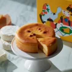 クリームチーズ、カマンベールチーズ、チェダーチーズを使用