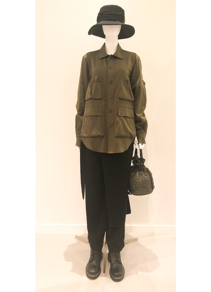 military blouse ¥ 59,400  (tax in)